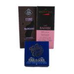 Sjokoladepakke: Trippel Melk Michel Cluizel - Valrhona - Willie's