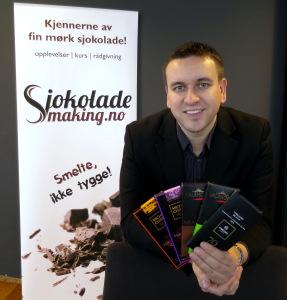 Sjokoladekjenner Svein-Magnus Sørensen